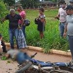 Pai morre e filho fica ferido após colisão entre veículos no bairro Belo Jardim