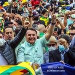 Ponte sobre o Rio Madeira é inaugurada por Bolsonaro com milhares caminhando de uma ponta a outra