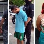 'Branquela Abusada' e quarteto criminoso são presos por homicídio e tráfico de drogas