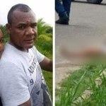 Homem mata esposa com mais de 10 terçadadas e joga corpo na rua