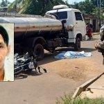 Motociclista é esmagado por caminhão pipa em Rio Branco