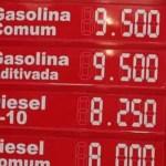 Acre tem preço da gasolina a quase R$ 10 após novo reajuste