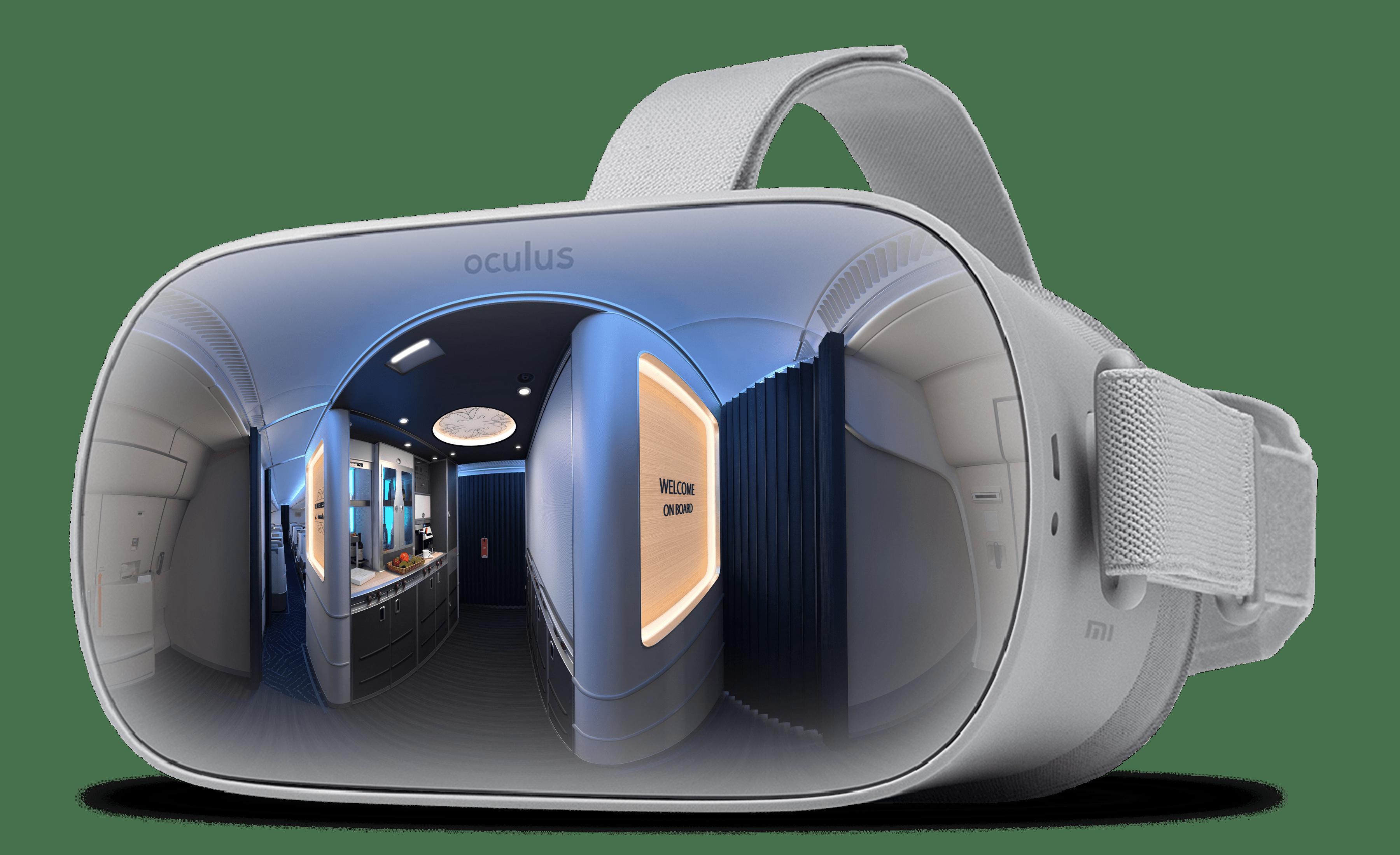 BA Oculus app