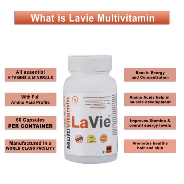 Acacia Lavie Multivitamin 60 Capsules-1146