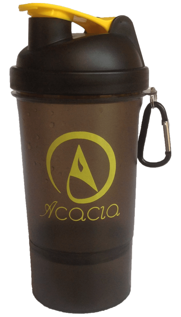 Acacia Shaker Bottle Yellow