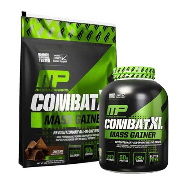 MusclePharm Combat Combat XL Mass Gainer On Acacia World