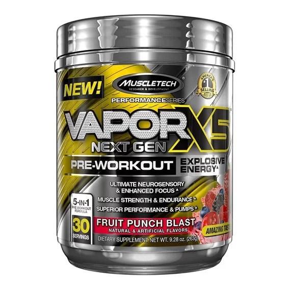 MuscleTech VAPORX5 Next Gen Pre Workout