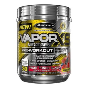 MuscleTech VAPORX5 Next Gen Pre Workout
