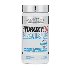 MuscleTech Hydroxycut Platinum | Probiotics + Weight Loss 60 Caps