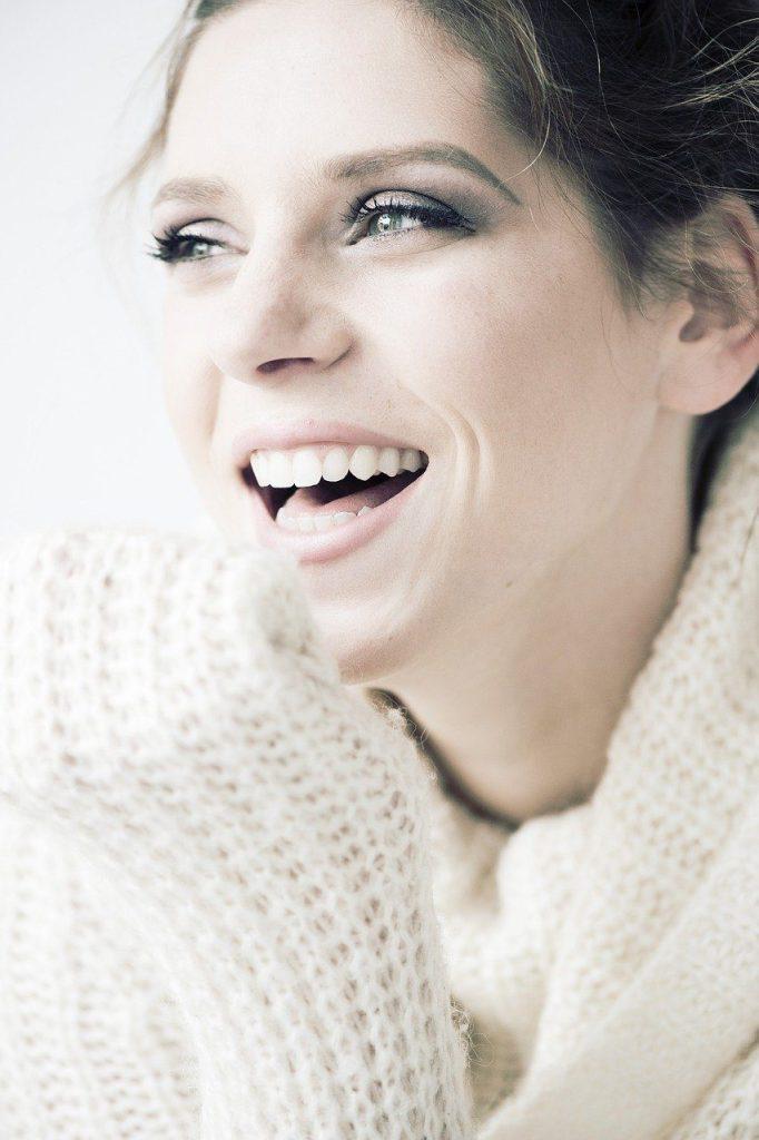 beauty, smile, happy