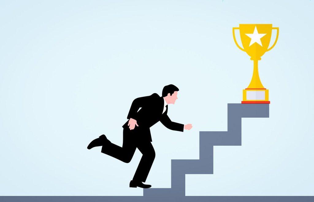 cup, businessman, successful