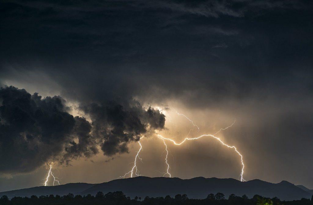 thunder, lightning, storm