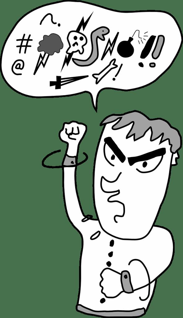 swearing, profanity, cursing