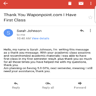 I have first class, thanks to acadel.org