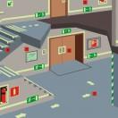 Монтаж, техническое обслуживание и ремонт фотолюминесцентных эвакуационных систем и их элементов