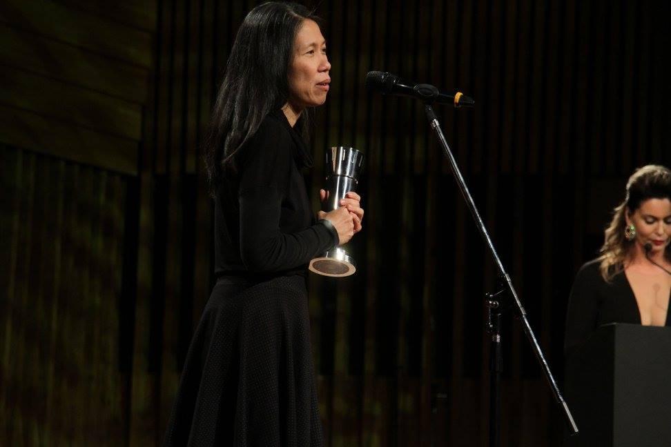 """Ailí Chen - ganadora del premio a Mejor Dirección de Arte por """"La Luz Incidente"""""""