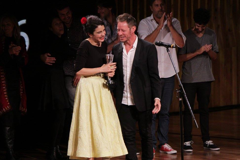 Erica Rivas y Ariel Rotter