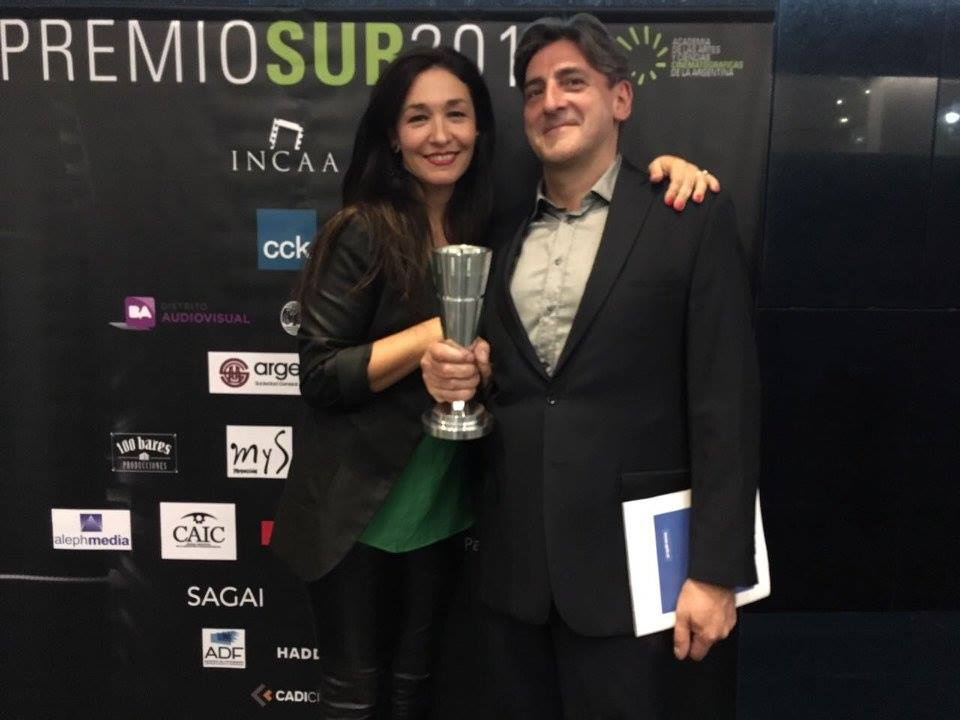 Lorena Muñoz y Julio Suárez
