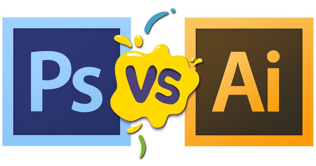 ¿Cuál es la diferencia entre Photoshop e Illustrator?