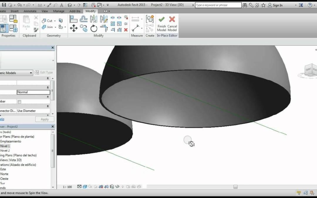 ¿Cómo crear una Cupula en Revit?