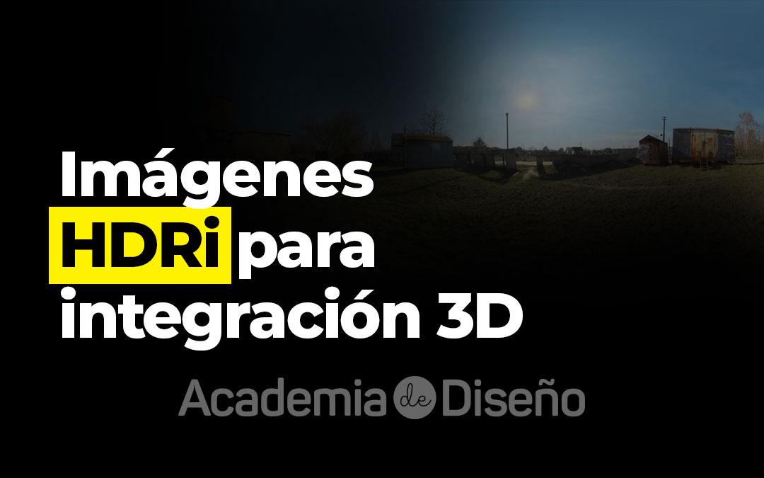 Imágenes HDRi para integración 3D