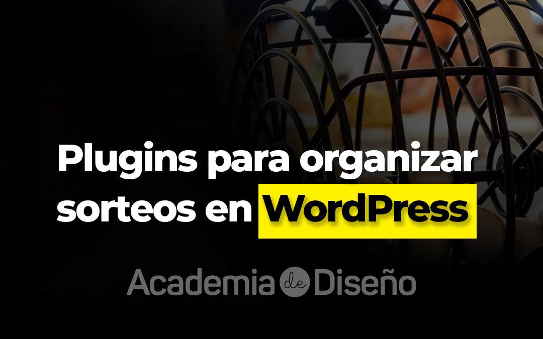Plugins para organizar sorteos en WordPress