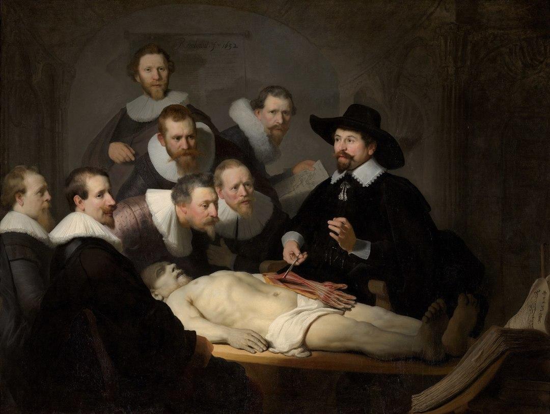 La lección de anatomía del Dr. Nicolaes Tulp es un cuadro del pintor neerlandés Rembrandt