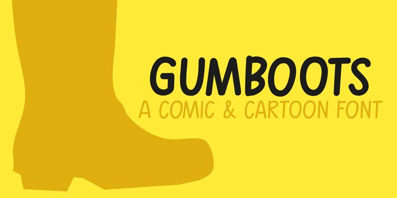 Las mejores fuentes gratis para descargar gumboots