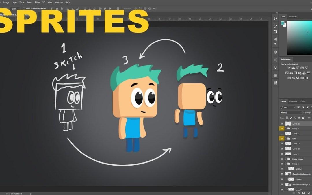 ¿Cómo hacer personajes para videojuegos?