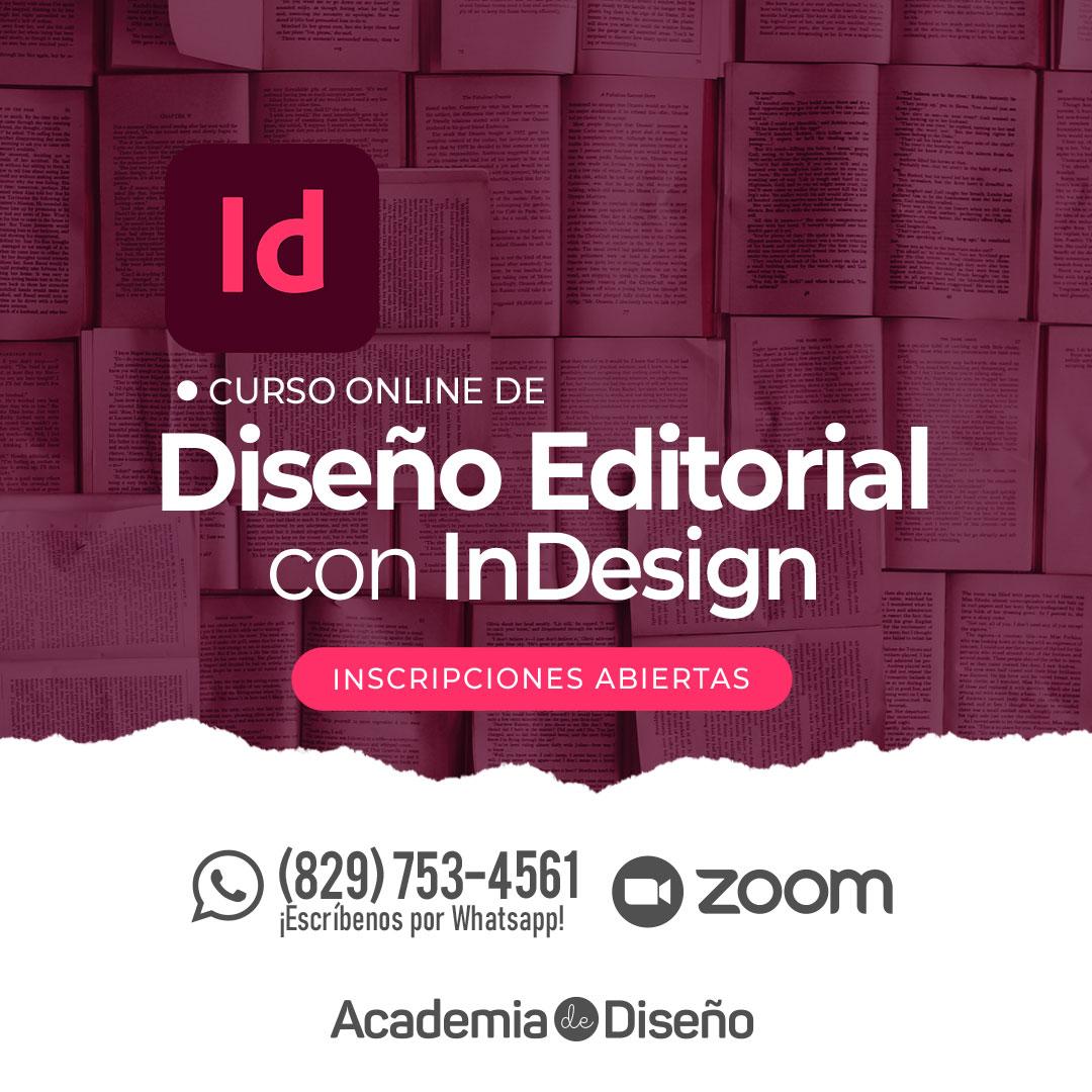 Curso de Diseño Editorial en Santo Domingo