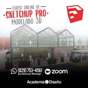 curso de sketchup pro republica dominicana