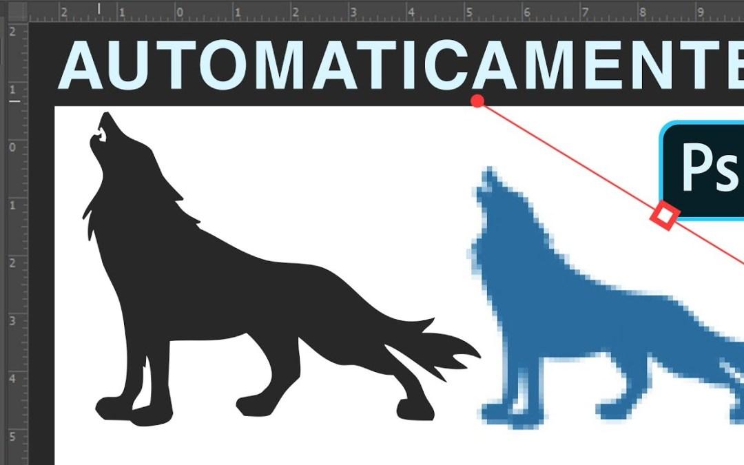 Convertir imagen a vectores en Photoshop