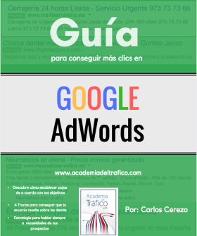 Guía Clic's en Google AdWords