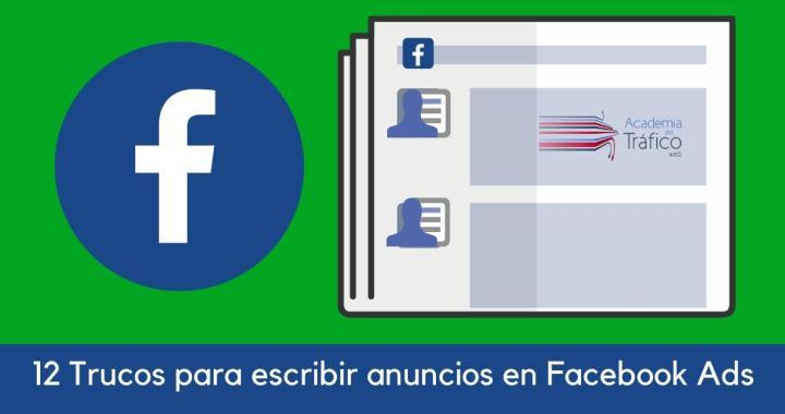 12 trucos para escribir anuncios en Facebook