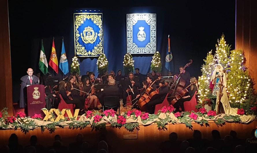 XXV Pregón de Navidad de D. José Carlos Fernández Moreno y concierto de la Orquesta Tararea
