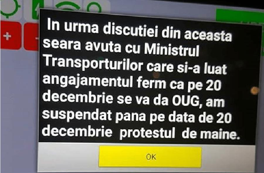 PROTESTUL COTAR A FOST AMANAT