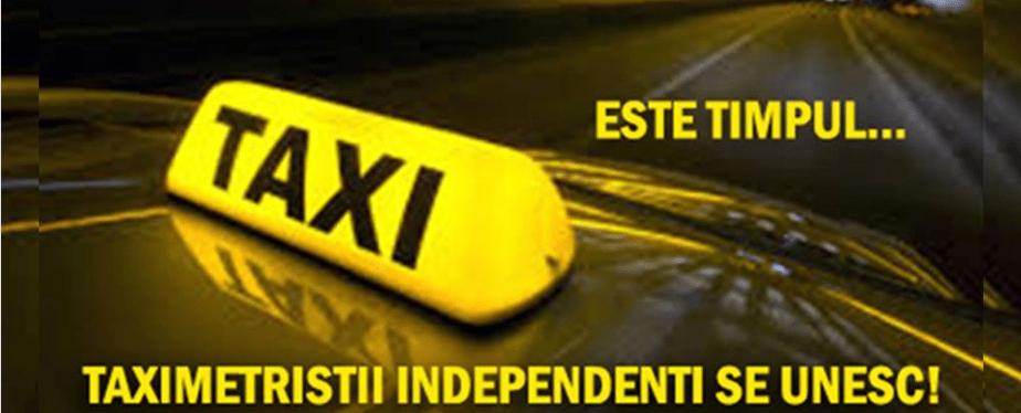TAXIMETRIST INDEPENDENT: NE-AU DISTRUS CA BREASLA, PRIN NEPASAREA LOR