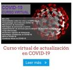 Oferta: Curso virtual de actualización en COVID-19 (U$20 antes U$50) solo 20 cupos.