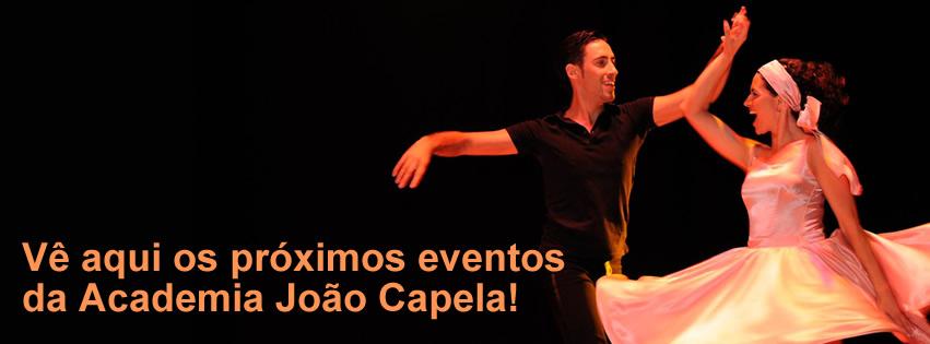 Calendário de Eventos da Escola de Dança Academia João Capela