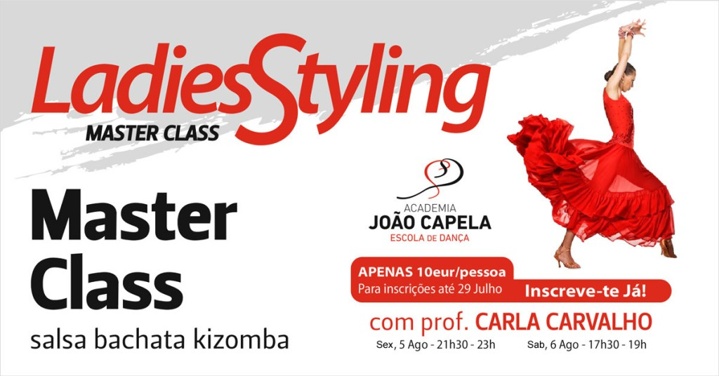 Master Classe Ladies Styling Academia João Capela Barcelos
