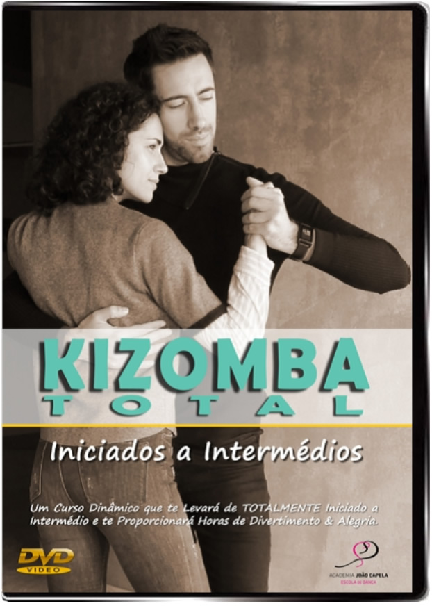 Curso Kizomba Total - DVD Front Cover PAL