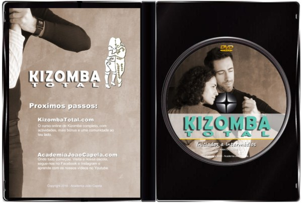 Curso Kizomba Total - DVD Inside Case PAL