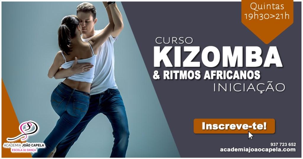 Curso Kizomba Iniciação Set 2018