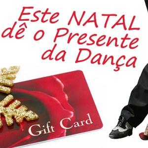 Voucher Natal Aulas de Dança Academia João Capela