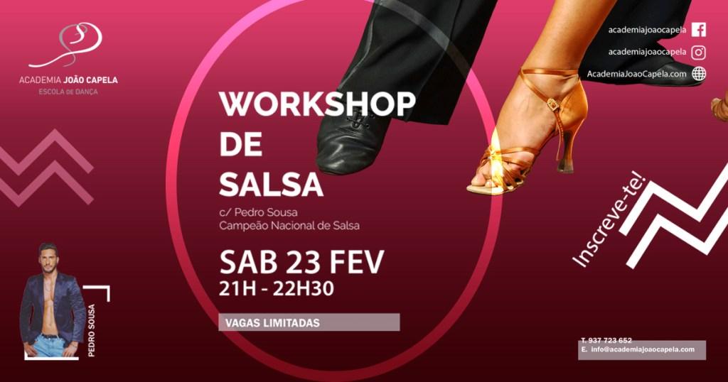 Workshop de Salsa com Pedro Sousa - Barcelos 23 Fev 2019
