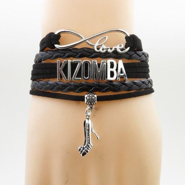 Pulseira Love Kizomba Preta