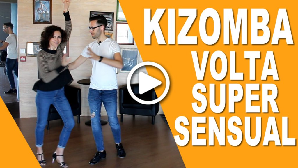Volta Super Sensual na Kizomba - Aprende a Dançar Kizomba