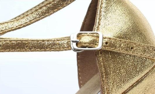 Sapato de Dança Praga Fivela Buckle
