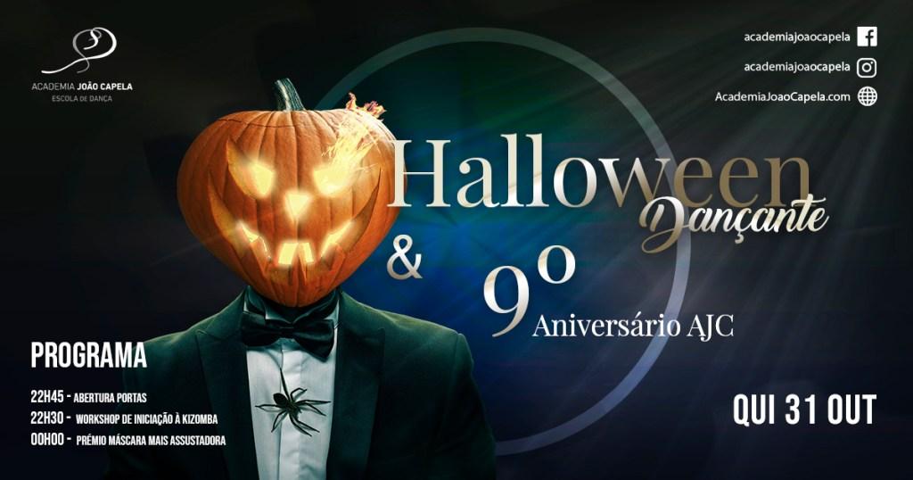 Halloween Dançante e 9º Aniversário da Academia João Capela