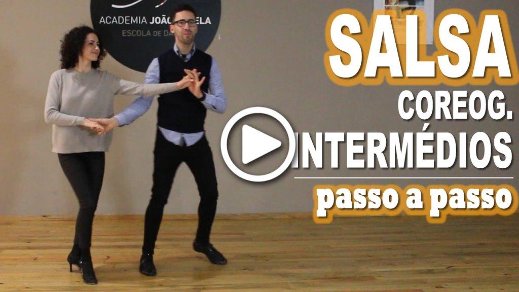 Coreografia de Salsa Intermédios Passo a Passo